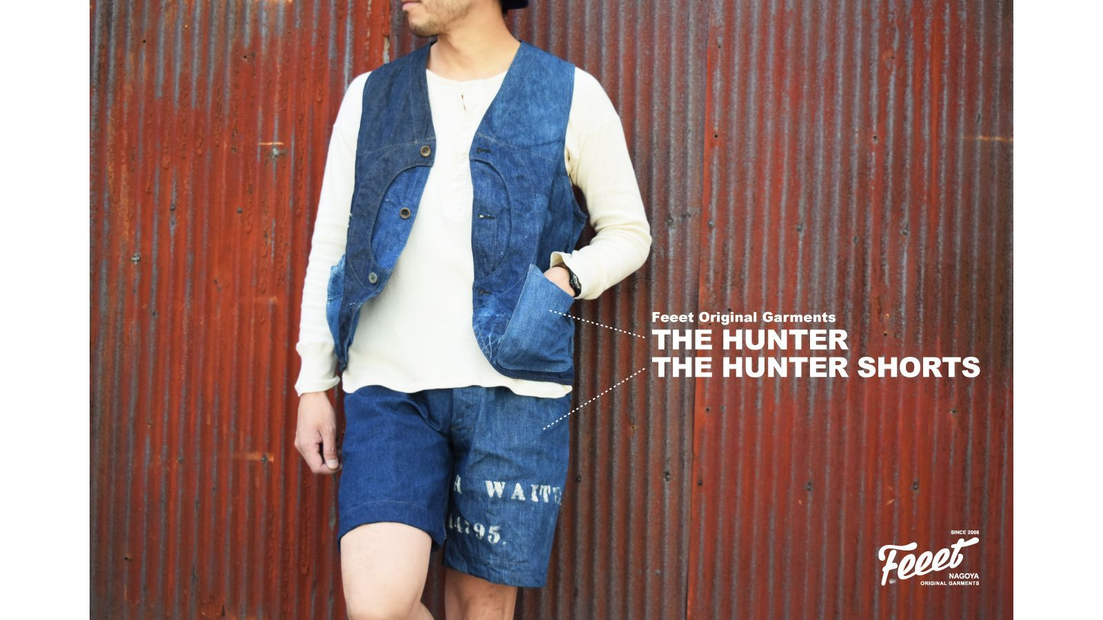 FOG THE HUNTER・THE HUNTER SHORTS2017