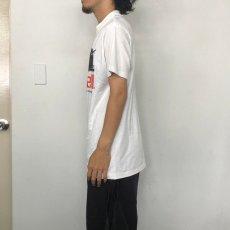 画像4: 90's MAXELL USA製 企業広告プリントTシャツ L (4)