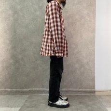 画像3: ● 【SALE】 THE NORTH FACE オンブレーチェック柄ポリシャツ XL (3)