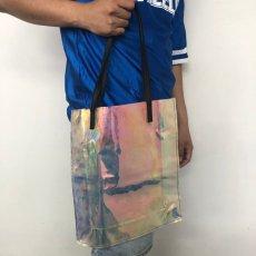画像2: ●【SALE】 PVC クリアトートバッグ (2)