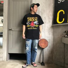 """画像5: 90's """"BURDEN OF PROOF"""" USA製 ボクシングTシャツ XL (5)"""