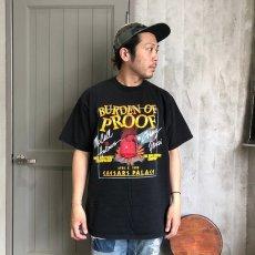 """画像2: 90's """"BURDEN OF PROOF"""" USA製 ボクシングTシャツ XL (2)"""