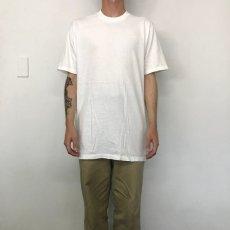 画像2: 90's〜 無地Tシャツ XL (2)