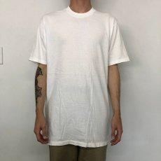 画像3: 90's〜 無地Tシャツ XL (3)