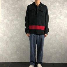 画像2: POLO Ralph Lauren チンスト付きプルオーバーシャツ M (2)
