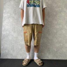 画像2: Calvin Klein ビニールポケットデザイン アウトドアショーツ W33 (2)