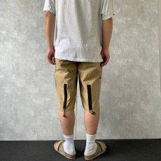 画像4: Calvin Klein ビニールポケットデザイン アウトドアショーツ W33 (4)