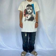 画像2: 90's Les Miserables USA製 ミュージカルプリントTシャツ ONE SIZE (2)