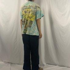 画像4: 90's The Allman Brothers Band USA製 タイダイ×大判プリント ロックバンドTシャツ XL (4)
