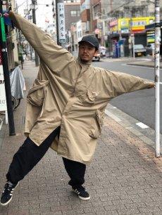 """画像8: COMFY OUTDOOR GARMENT """"RAIN FALLS PONCHO"""" BEIGE 【M】 (8)"""