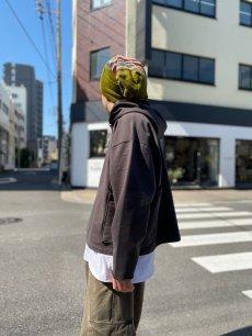 """画像2: GOFUKUSAY """"CROSS POCKET FOODIE"""" CHACOAL 【FREE SIZE】  (2)"""