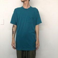 画像6: 80's FRUIT OF THE LOOM USA製 無地ポケットTシャツ XXXL (6)