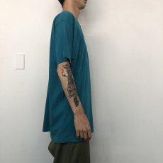 画像7: 80's FRUIT OF THE LOOM USA製 無地ポケットTシャツ XXXL (7)