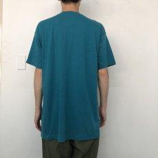 画像8: 80's FRUIT OF THE LOOM USA製 無地ポケットTシャツ XXXL (8)