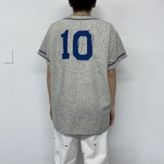 "画像5: 40's〜50's ""LEGION"" Frannel Baseball shirt (5)"