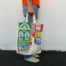 画像2: ストリートイラスト キャンバストートバッグ (2)