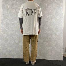 """画像5: ▼【SALE】 90's THE KING LIVES USA製 """"ELVIS """"ミュージシャンTシャツ XL (5)"""