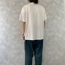 画像5: 〜2000's USA製 聖母マリア イラストプリントTシャツ XL (5)