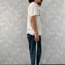"""画像3: 80's USA製 JESUS """"THE CHOICE OF A FREE GENERATION"""" パロディプリントTシャツ L (3)"""