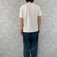 """画像4: 80's USA製 JESUS """"THE CHOICE OF A FREE GENERATION"""" パロディプリントTシャツ L (4)"""