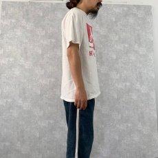 """画像4: 90's〜 Jesus """"HE'S the REAL THING"""" プリントTシャツ L (4)"""