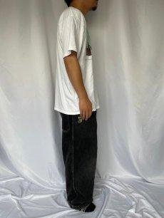 """画像3: 90's """"Non Sequitur"""" シュールイラストプリントTシャツ XL (3)"""