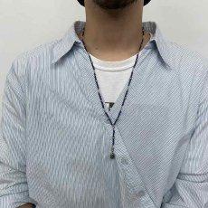 """画像3: RORAN """"Lapis×Antique Turquoise"""" ネックレス (3)"""