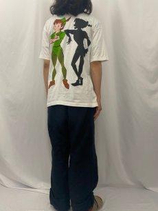 """画像4: 90's Disney """"Peter Pan"""" キャラクタープリントTシャツ L (4)"""