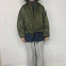 画像2: 60's U.S.NAVY A-1 Extreme Cold Weather Impermeable Deck Jacket (2)