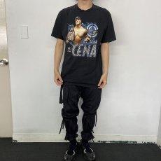 画像2: WWE JOHN CENA プロレスラーTシャツ L (2)
