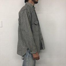 画像4: 40's MONTGOMERY WARD ウールワークシャツ (4)
