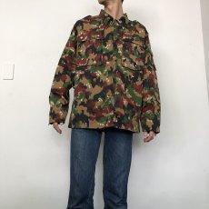 画像5: スイス軍 アルペンカモ フィールドジャケット (5)