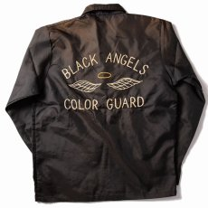 """画像1: 50's """"BLACK ANGELS"""" 刺繍 コーチジャケット (1)"""