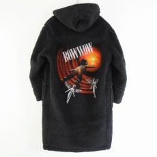 "画像3: BOWWOW ""BE BORN"" BOA DUFFLE COAT BLACK PAINT (3)"