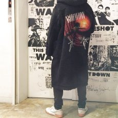 "画像9: BOWWOW ""BE BORN"" BOA DUFFLE COAT BLACK PAINT (9)"