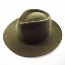 "画像2: NEXUSVII ""WOOL HAT"" OLIVE (2)"