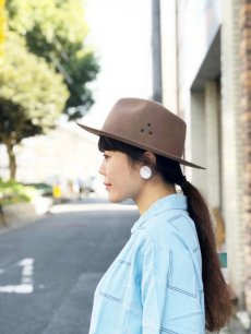 "画像4: NEXUSVII ""WOOL HAT"" CAMEL (4)"