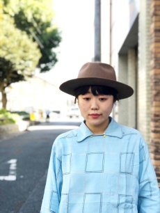 "画像2: NEXUSVII ""WOOL HAT"" CAMEL (2)"