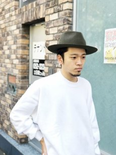 "画像3: NEXUSVII ""WOOL HAT"" OLIVE (3)"