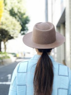 "画像1: NEXUSVII ""WOOL HAT"" CAMEL (1)"