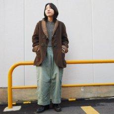 画像3: 〜40's ツートーン ウール スモーキングジャケット (3)