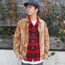 画像7: 60's Leesure Wear by Lee チェック柄 プリントネル ボックスシャツ (7)