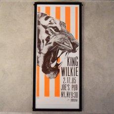 画像1: 2005 King Wilkie Concert Poster (1)