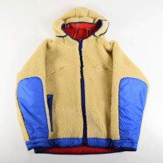 "画像2: COMFY OUTDOOR GARMENT ""RABBIT HOODIE"" BEIGE×BLUE 【L】 (2)"