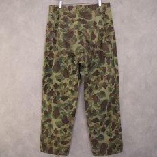 画像3: 40's USMC ダックハンターカモ HBT Trousers W35 (3)