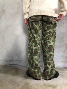 画像7: 40's USMC ダックハンターカモ HBT Trousers W35 (7)