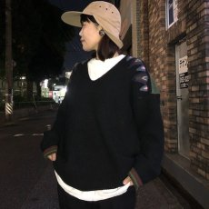 """画像2: ARIGATO FAKKYU """"Wool Knit Sweater"""" BLACK 【M】 (2)"""