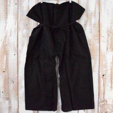 画像2: リメイク 袴パンツ BLACK (2)