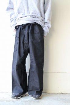 画像7: リメイク 袴パンツ BLACK (7)