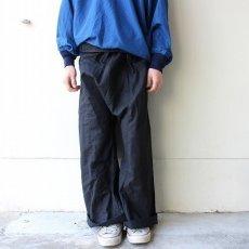画像4: リメイク 袴パンツ BLACK (4)